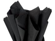 Black Tissue Paper 38cm X 50cm - 100 Sheets