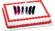 6pack Ladies Heels Stilettos Shoes Cake and Cupcake Decoration Topper