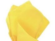 Cakesupplyshop Packaged 100 Ct Bulk Tissue Paper Dandelion Yellow Gift Wrap Pom Pom Tissue Paper 100sheets