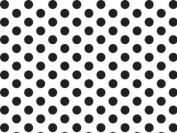 Black & White Polka Wrap Tissue Paper 50cm X 80cm - 24 Sheets