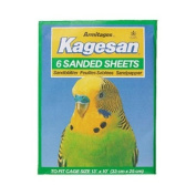 Kagesan Sanded Sheets No. 4 Green 33Cm X 25Cm 250G - Bulk Deal Of 12X