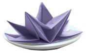 Party Partners Design Fancy Pre-Folded Paper Party Napkins, Purple, 12 Count