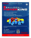 Balloon Fisherking 41160 13cm Latex