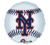 New York Mets 46cm Mylar Balloons MLB Party Balloon