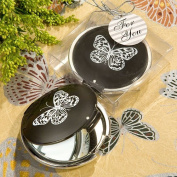 Elegant Reflections Collection Butterfly Mirror Compact Favours