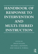Handbook of Response to Intervention and Multi-Tiered Instruction