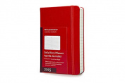 2015 Moleskine Red Pocket Daily Diary 12 Month Hard