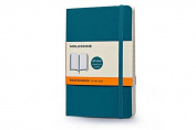 Moleskine Soft Cover Underwater Blue Pocket Ruled Notebook