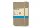 Moleskine Soft Cover Khaki Beige Pocket Dotted Notebook
