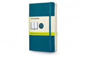Moleskine Soft Cover Underwater Blue Pocket Plain Notebook