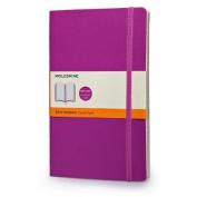 Moleskine Soft Large Orchid Purple Ruled Notebook