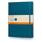 Moleskine Soft Extra Large Underwater Blue Ruled Notebook
