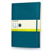 Moleskine Soft Extra Large Underwater Blue Plain Notebook