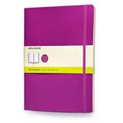 Moleskine Soft Extra Large Orchid Purple Plain Notebook