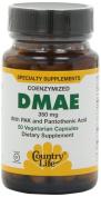 Gluten Free, Coenzymized DMAE, 350 mg, 50 Veggie Caps