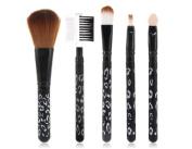 5 pcs Convenient Arrow Handle Make-up Brush Set