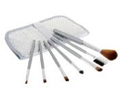Paillette Ornament Design 7 pcs Make-up Brush Set