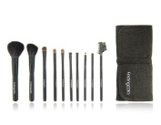 Findingcolor 10pcs Make-up Brush Set with Knot Closure