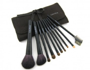 CSM3006 Makeup Cosmetic Brush Set & Case 10Pieces