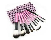 CSM3005 Makeup Cosmetic Brush Set & Case 10Pieces