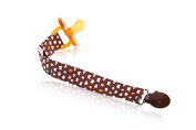 Hevea organic cotton soother pacifier dummy teether holder