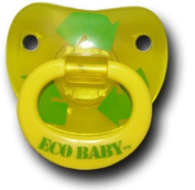 Billy Bob Eco Baby Yellow Pacifier