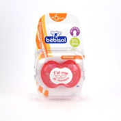 Bébisol Reversible Silicon Dummy 6-36M Limited Edition - Model : P'tit Ange Boy