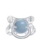 Bébisol Reversible Silicone Dummy 0-4M - Colour : Blue