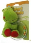 Safari Friends Teether/Rattle Green