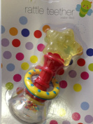 Brand new Baby Star Shaped Head Water Filled Teether and Rattle Bottom 6+ months