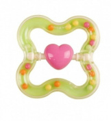 BPA Free Eco Corn Baby Rattle - Star