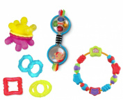 Baby Teethers & Rattle 4 Pack