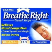 Breathe right nasal strips 2/30 pack