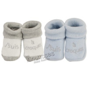 OFFERS Pack of 2 pairs of socks 'so cute' - French Quality Brand