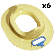 BABY - Winnie the Pooh Toilet Trainer Seat - Pack of Six - Yellow