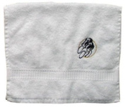 Bath Towel with Embroidery Radfahrer