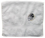 Bath Towel with Embroidery Radfahrer