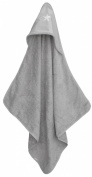 Taftan Star Silver Hooded Towel 75 x 75cm