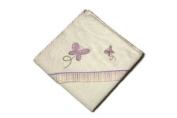 Be Be's Collection - hooded towel - butterfly - purple 80x80