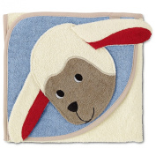 Sterntaler 16295 - Hooded Towel with all-over motif Stanley