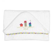 Petit Praia Terry Cloth Bath Towel Casitas Crudo