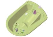Hippo Anatomic Baby Bath Green