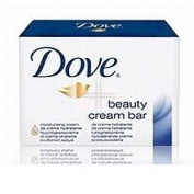 THREE PACKS of Dove Soap Bar Single