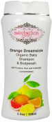 Orange*Dreamsicle Organic Baby Shampoo & Bodywash, with proteins, Kiwi and Calendula, 100ml