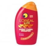 THREE PACKS of Loreal Kids Cheeky Cherry 250ml Shampoo