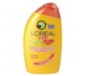TRIPLE PACK of Loreal Kids Tropical Mango 250ml Shampoo