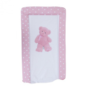 Baby Teddy Bear Deluxe Padded Easy Clean Changing Mat (Boy & Girl Options) (48cm x 78cm)