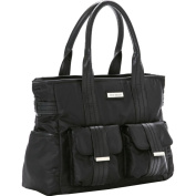 Perry Mackin Zoey Nappy Bag - Black