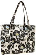 Austin Tote Nappy Bag - Charcoal Floral