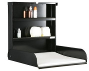 Changing table wall Fifi black Bybo design